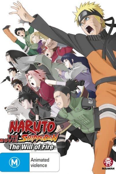 Naruto Shippuuden The Movie 3 (6) ผู้สืบทอดเจตจำนงแห่งไฟ [จบ] พากย์ไทย
